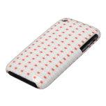 SpiderWeb White Orange Case-Mate iPhone 3 Case