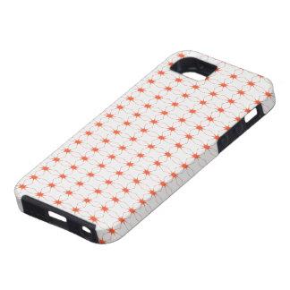 SpiderWeb White Orange iPhone SE/5/5s Case