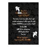 Spiderweb y fiesta de Halloween de los fantasmas Comunicado Personal