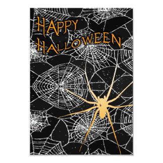 spiderwebs del feliz Halloween Comunicado Personal
