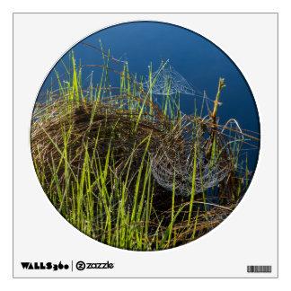 Spiderwebs en el lago vinilo adhesivo
