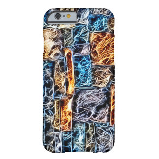Spiderwebs Fractal Barely There iPhone 6 Case