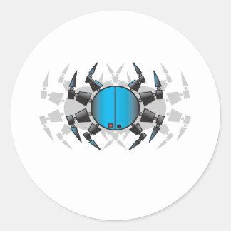 Spiderxx copy classic round sticker