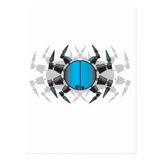 Spiderxx copy postcard