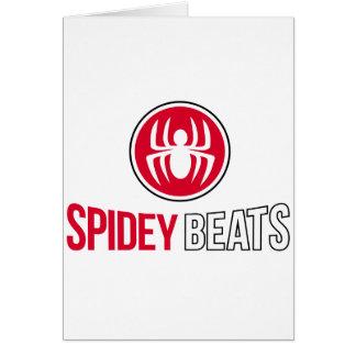 Spidey Beats Card