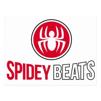 Spidey Beats Postcard