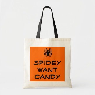 Spidey Want Candy Bag