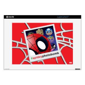 #spideyphotobomb Spider-Man Emoji Decal For Laptop