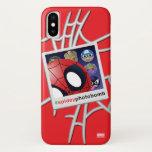 #spideyphotobomb Spider-Man Emoji iPhone X Case