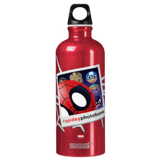 #spideyphotobomb Spider-Man Emoji Water Bottle