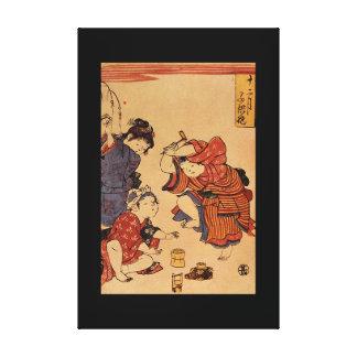 Spielende Kinder',_The Orient Canvas Print