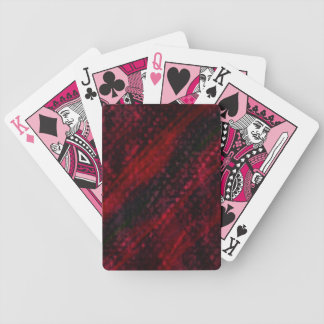 """Spielkarten """"fabrics"""" darkly red, abstractly bicycle playing cards"""