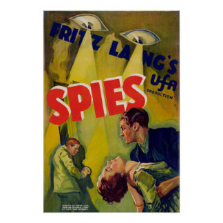 Spies (1928) poster