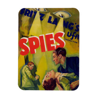 Spies (1928) rectangle magnet
