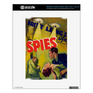 Spies (1928) skin for the NOOK