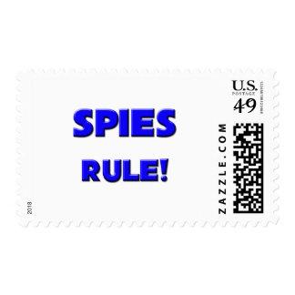 Spies Rule! Postage