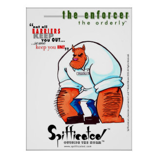 Spifficated - The Enforcer Poster