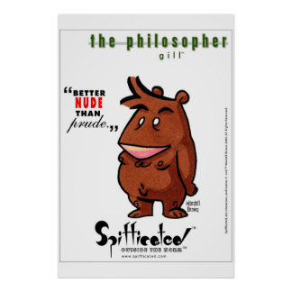 Spifficated - The Philosopher Poster