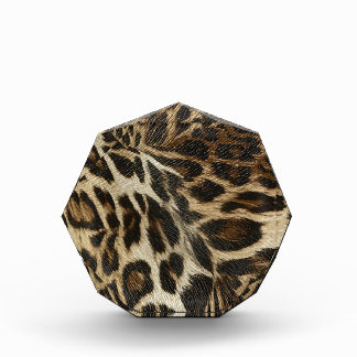 Spiffy Leopard Spots Leather Grain Look Awards