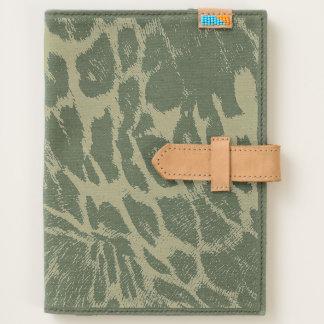 Spiffy Leopard Spots Leather Grain Look Journal
