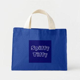 Spiffy Tiffy Mini Tote Bag
