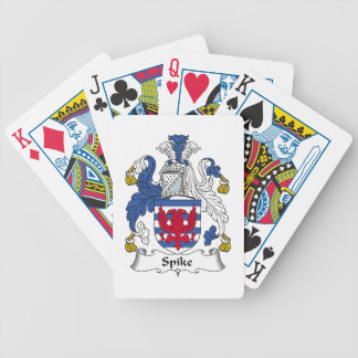 Spike Family Crest Bicycle Card Deck