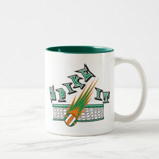 Spike It Volleyball Gift Coffee Mugs