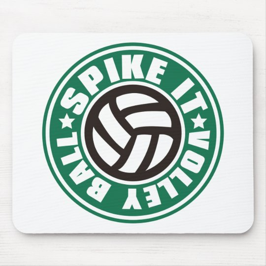 Spike_It_Volleyball Mouse Pad