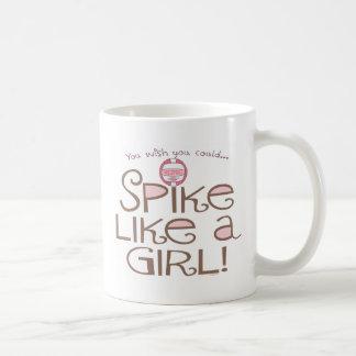 Spike Like a Girl Coffee Mug