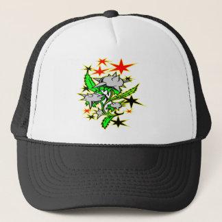 Spike Mace Plant Tattoo Trucker Hat