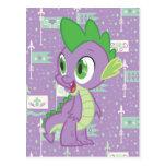 Spike Post Card