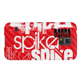 Spike; Scarlet Red Stripes Case For Galaxy S5