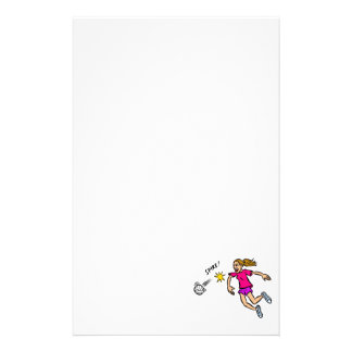 Spike Personalized Stationery