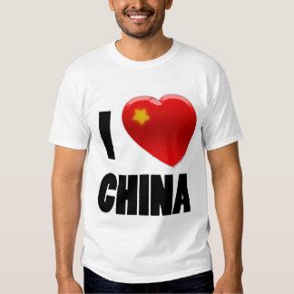 spike tee 007 I Love China Dragon edition
