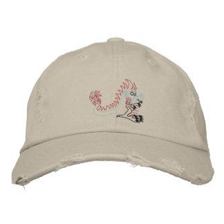 spike the dragon embroidered baseball caps