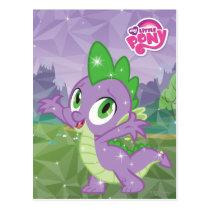 Spike the Dragon Postcard