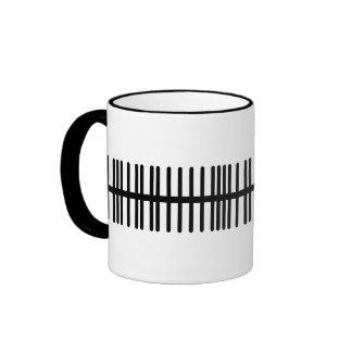 Spike Train Ringer Mug
