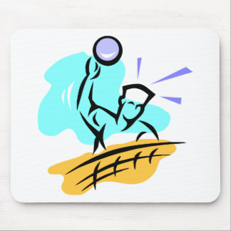 Spike Volleyball Mouse Pad