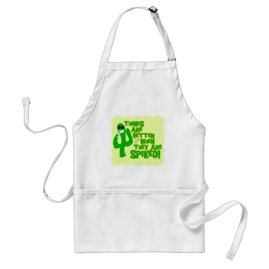 Spiked Beverages are Best! Adult Apron
