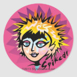 Spiked! by StyleStickers™ Classic Round Sticker