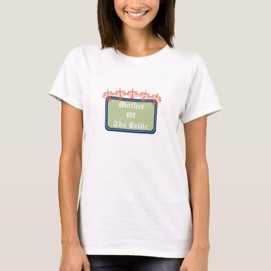 Spiked Damask Woman T-Shirt Template