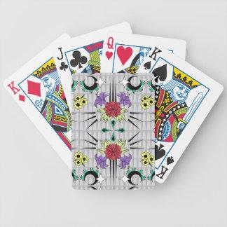 Spiked Floral Poker Deck