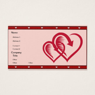 Spiked Heart - Business Card