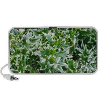 Spiked Leaves Texture Speaker - Green