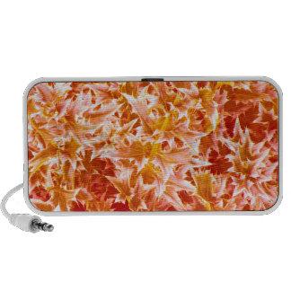 Spiked Leaves Texture Speaker - Orange