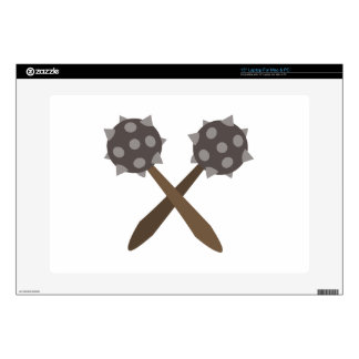 Spiked Mace Decal For Laptop