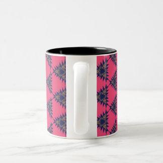 Spiked Pink Lemonade Two-Tone Coffee Mug