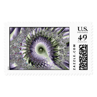 Spiked Postage Stamps