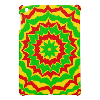 Spiked Rasta Pattern Cover For The iPad Mini
