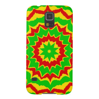 Spiked Rasta Pattern Galaxy S5 Cover